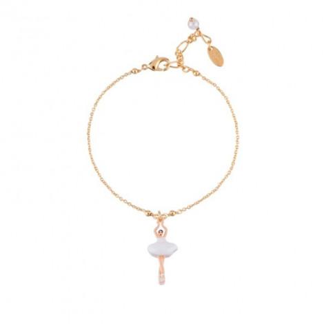 Bracelet Mini Pas de Deux blanc