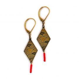 Boucles d'oreilles Origami - Amélie Blaise