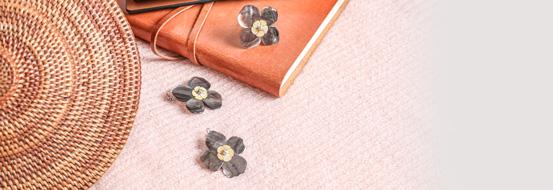 Collection Fleurs de Nacre Nature Bijoux