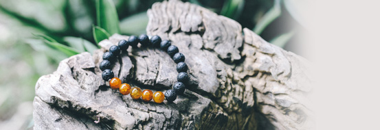 Lava bracelets by nature bijoux.