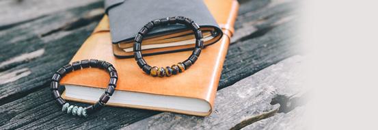 Santal bracelets by Nature Bijoux