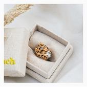 Découvrez la nouvelle collection Automne-Hiver 2020 de la marque Nach et son incontournable bague maxi léopard! À retrouver dès maintenant sur notre e-shop Olivolga.com! 🌀#olivolga#olivolgabijoux#olivolgajewellery#winter2020#mode#nach#pictureoftheday#bague