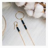 Raffinées et délicates, les boucles d'oreilles dépareillées Rosekafé sont faciles à associer et désormais disponibles sur Olivolga.com! 🌀#olivolga#olivolgabijoux#bouclesdoreilles#olivolgajewellery#rosekafé#pictureoftheday#mode