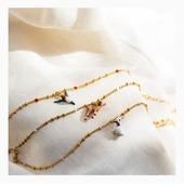 Féminine et sophistiquée, la nouvelle collection Les Néréides est disponible sur Olivolga.com. À découvrir sans plus attendre ! 🌼 #olivolga#olivolgabijoux#olivolgajewellery#summer2020#pictureoftheday#jewelslovers