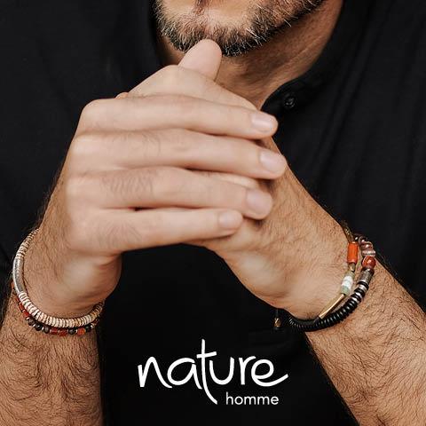 Découvrez la ligne Homme de Nature bijoux