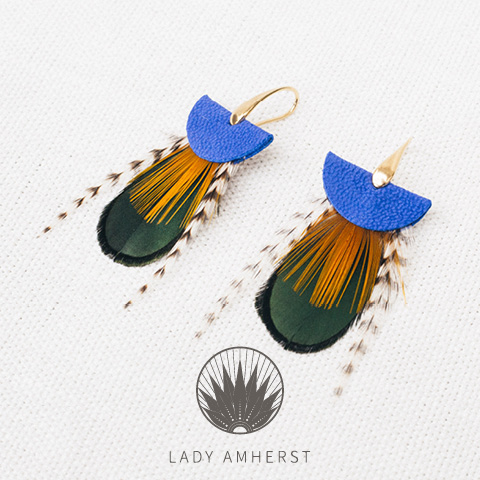 Lady Amherst - des bijoux fantaisies made in france