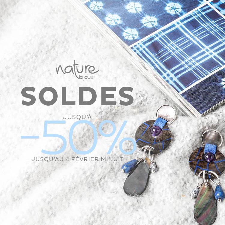 Soldes Nature Bijoux jusqu'à -50%