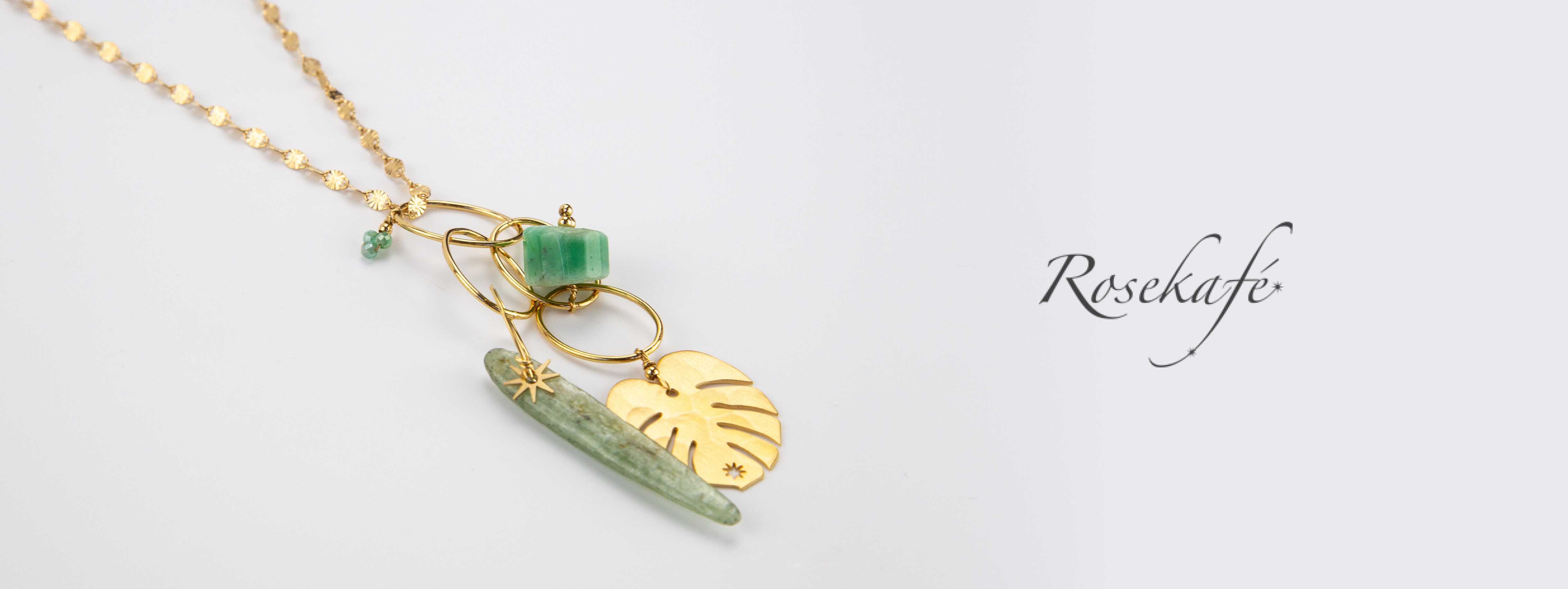 Shop Now the NEW Spring Summer 2019 Rosekafé jewellery Collection