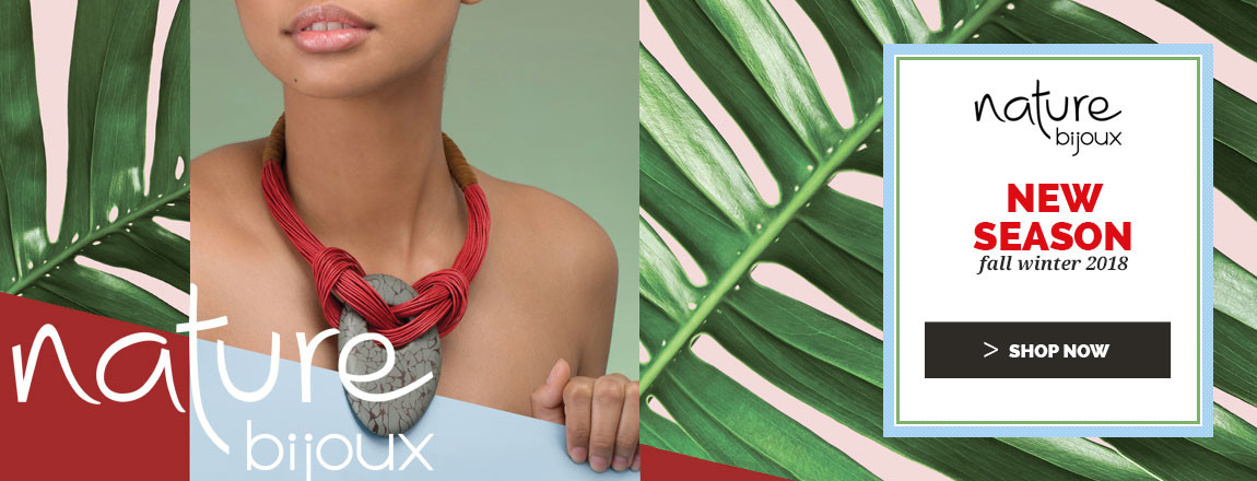 Shop Now the NEW Fall Winter 2018 Nature Bijoux jewellery Collection