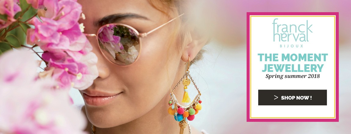 Shop Now the NEW Spring Summer 2018 Franck Herval Jewellery Collection