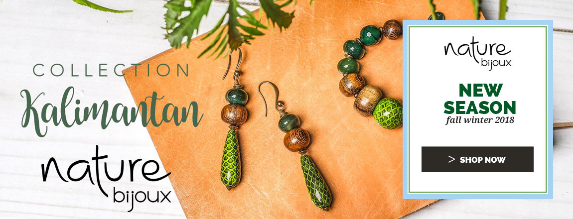 Shop Now the NEW Spring Summer 2019 Nature Bijoux jewellery Collection